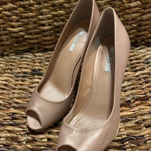 Beautiful Rose Gold Geox Shoes, 36